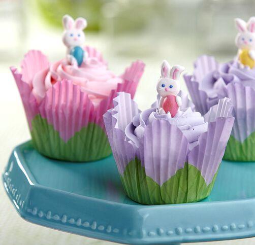Easter Bunny Cupcakes Wilton