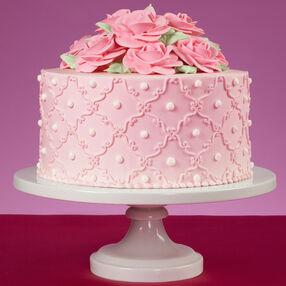 So Sweet Pink Roses Cake