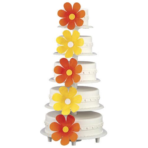 Blossoming La Quinceañera Cake
