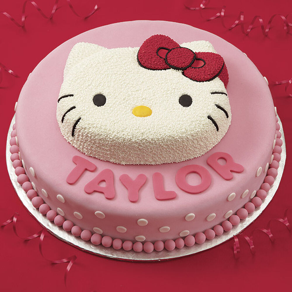 Birthday Cake Pictures Hello Kitty : Hello Kitty Birthday Cake Wilton