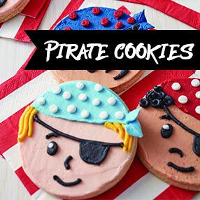 Pirate Cookies Kid Class