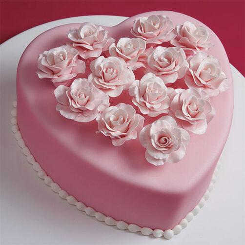 Baker's Dozen Rose Cake