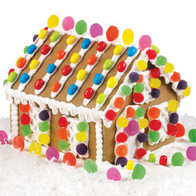 Holiday House Gingerbread House