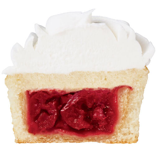 Adding a Mini Pie to the Center of a Cupcake