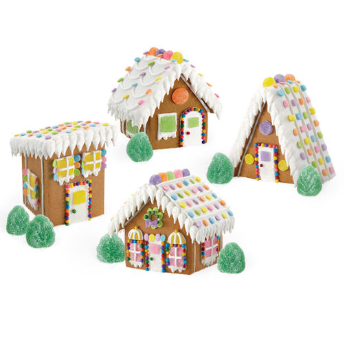Assembling a Mini Gingerbread Village