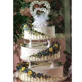 Flowering Romance Cake