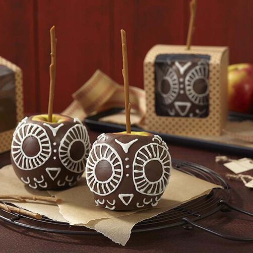 Wilton Owl Candy Apples