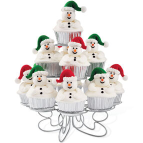 Full-of-Fun Snowmen Cupcakes