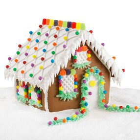 Lattice Lodge Gingerbread House