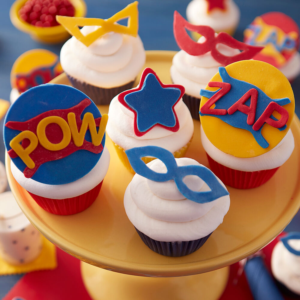 Super Hero Cupcakes Wilton