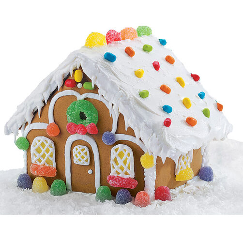 Winter Welcome Gingerbread House