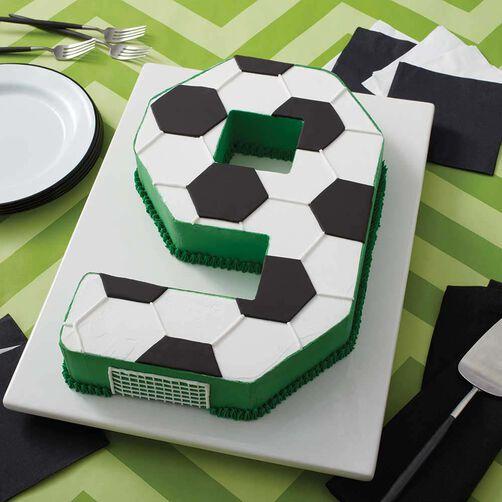 Go For The Goal Soccer Cake Wilton