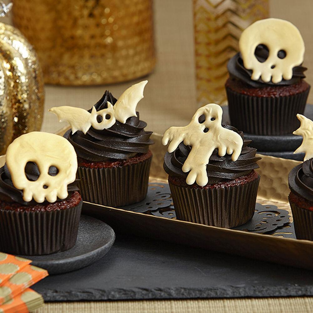 Candy Creeper Halloween Cupcakes