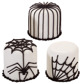 Halloween Spider Petit Fours