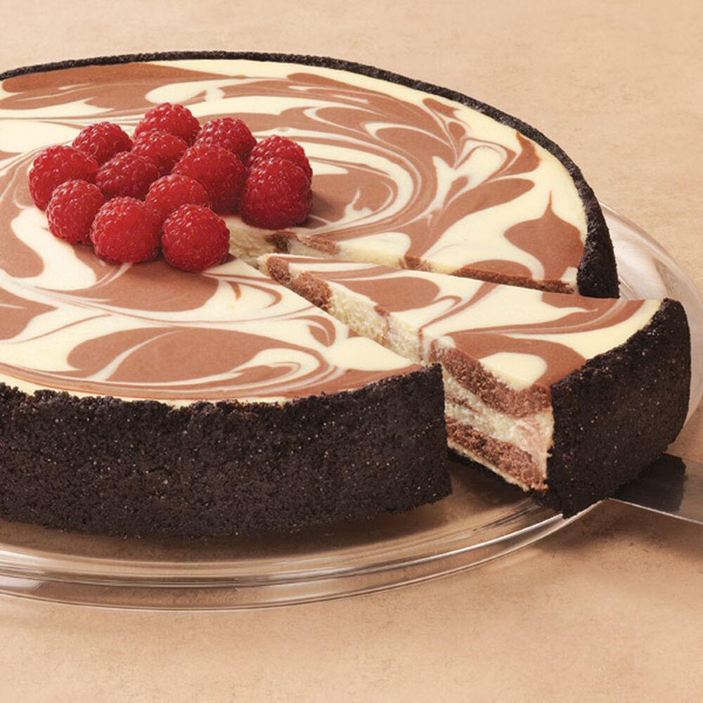 yemek tarifi: chocolate marble cheesecake [1]