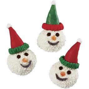 Snowmen Winter Cookies