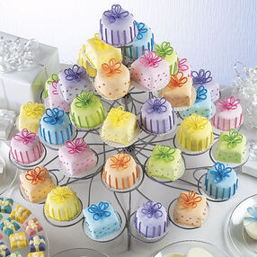 Colorful Mini Cakes