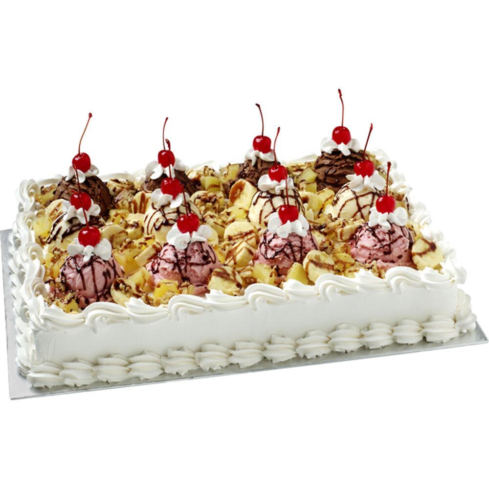 The Ultimate Banana Split Cake Wilton