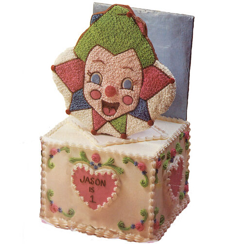 Jack-In-The-Box Cake