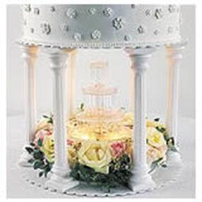 Wilton Fountain Tiered Cake