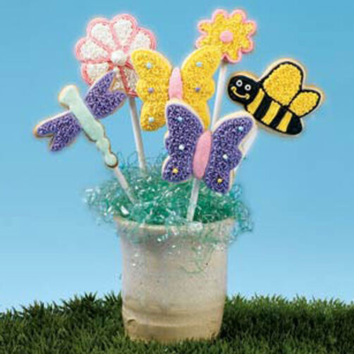 Bugs & Blossoms Cookies