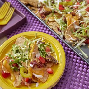 Wilton Bacon Cheeseburger Nachos