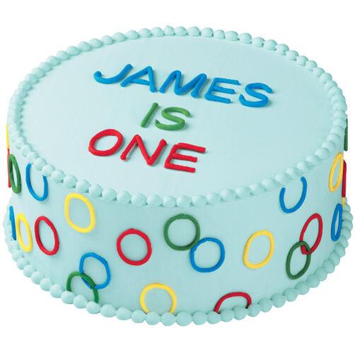 Sweet Greetings Cake