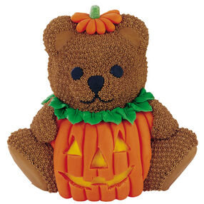 Pumpkin Teddy Bear Cake