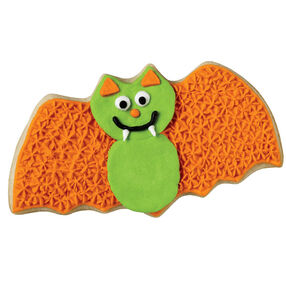 Green Goblin Bat Cookie
