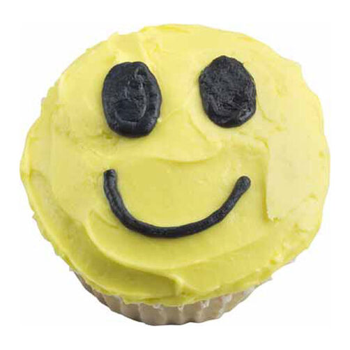 Smile Guy Cupcakes
