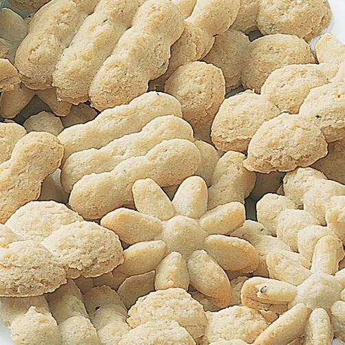 Coconut Spritz Cookies