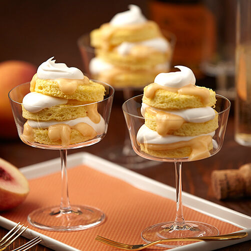 Peach Bellini Parfaits