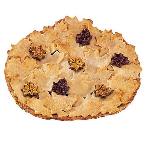 Leafy Pumpkin Pie