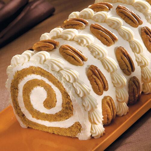Pumpkin Roll Cake In A X Pan