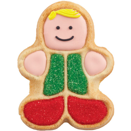 He?s Dressed in Holiday Best Cookie
