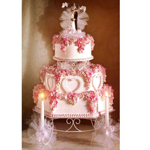 Candlelit Romance Cake