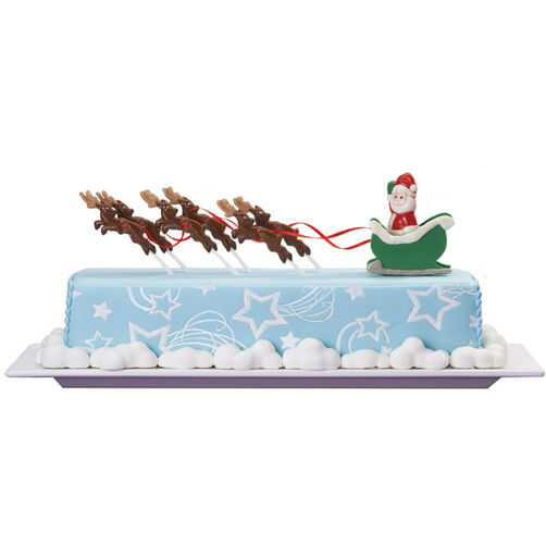 Hoofs on the Roofs Cake