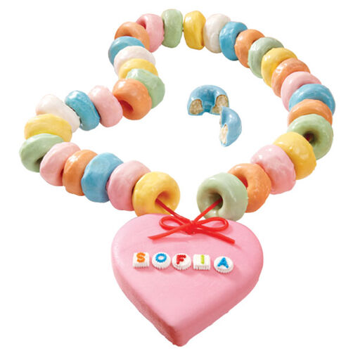 Mini Cake Doughnut Necklace