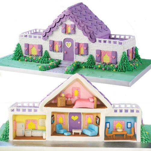 Dollhouse Design Cake : Dream Dollhouse Cake Wilton