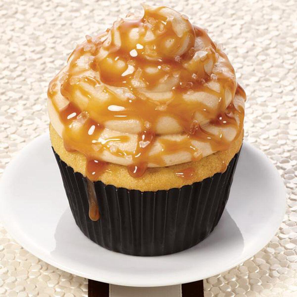 Salted Caramel Cupcakes Recipe Wilton