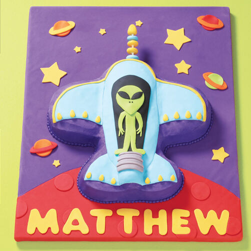 Party on your Planet Cake