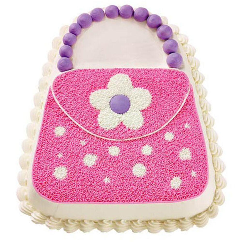 Pink Purse Cake Wilton