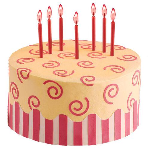 Sassy Swirls Cake