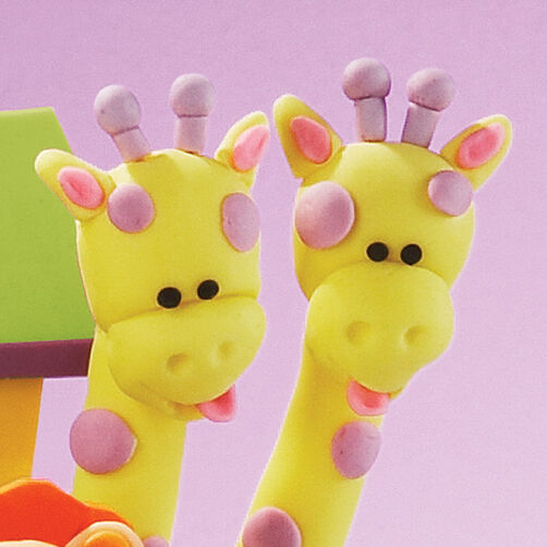 Giraffe Cake Pops Tutorial