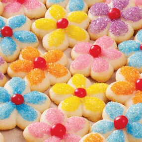 Springtime Spritz Cookies