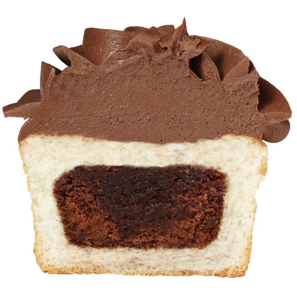 How To Add A Brownie Inside A Cupcake Wilton