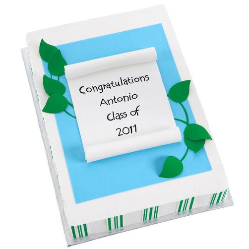 Graduation Congratulations Cake