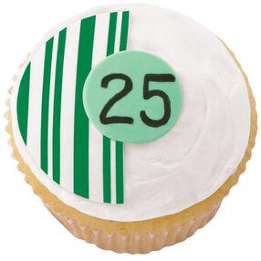 25th Anniversary Cupcakes