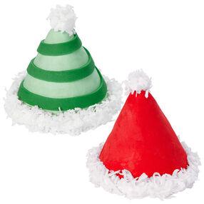 Elf Cap Mini Cakes