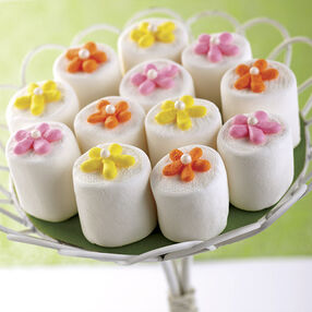 Buttercream Flower-Topped Marshmallow Treat